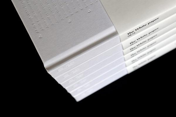 Carnet de note blanc coréen