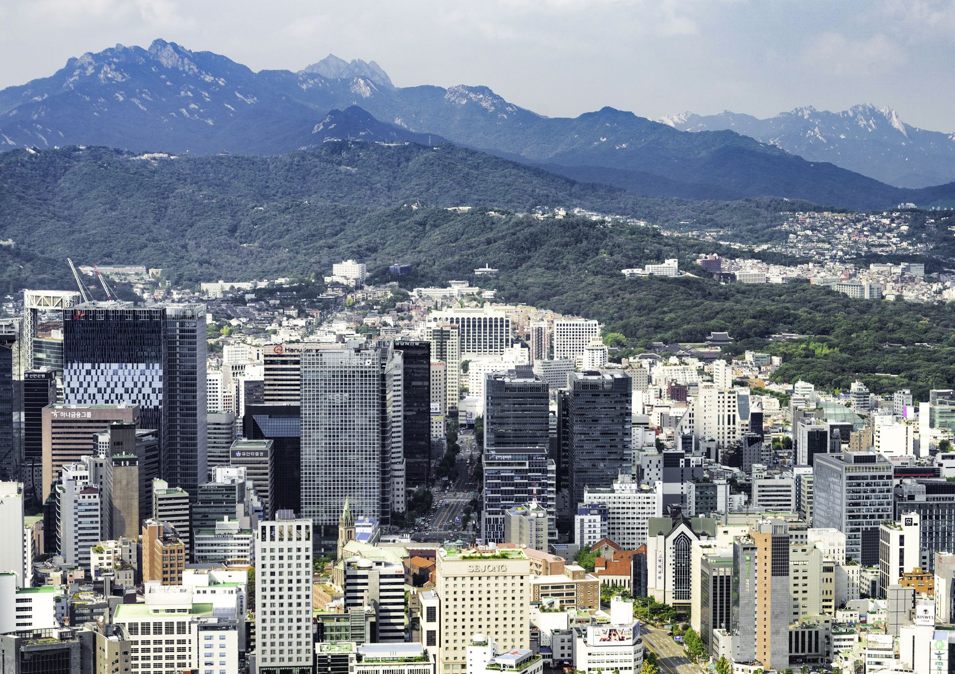 montagne seoul - magazine coreen